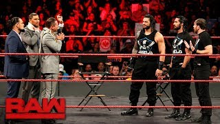 Download Roman Reigns wants an Intercontinental Title Match: Raw, Nov. 20, 2017 Video