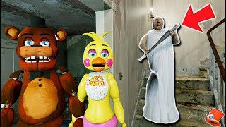 Download ANIMATRONICS vs GRANNY'S REVENGE! (GTA 5 Mods For Kids FNAF RedHatter) Video
