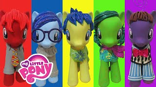 Download Play Doh INSIDE OUT Joy Sadness Disgust Anger Fear Inspired Costumes My Little Pony Video