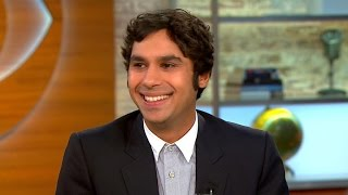 Download ″Big Bang Theory″ star Kunal Nayyar on his accent, new book and family Video
