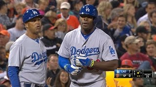 Download LAD@SF: Dodgers notch five triples vs. the Giants Video