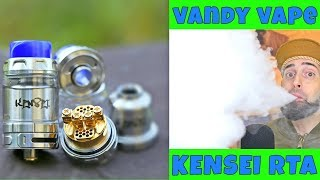 Download Honeycomb Airflow Baby! The Kensei RTA By Vandy Vape! Video
