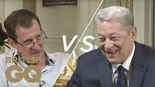 Download Al Gore on Donald Trump: ″His wall is unlikely to get built″ | GQ Politics | British GQ Video