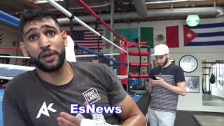Download Amir Khan On The Shake Up Got A New Team Now Coming Back Stronger EsNews Boxing Video