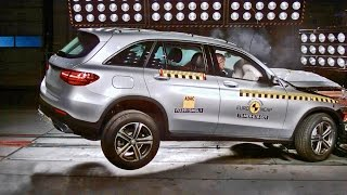 Download Mercedes GLC (2016) Crash Test Video