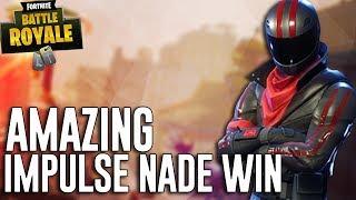 Download Amazing Impulse Nade Win! - Fortnite Battle Royale Gameplay - Ninja Video
