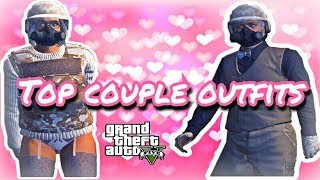 Download GTA V ONLINE- TOP 10 COUPLE OUTFITS ♡ Video