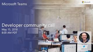 Download Microsoft Teams community call May 2018 Video