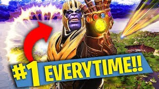 Download HOW TO BECOME THANOS EVERYTIME! Fortnite: Battle Royale Video