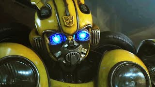 Download How Fast Can Bumblebee's Cast Transform Bumblebee? - Comic Con 2018 Video