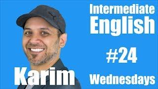 Download Intermediate English with Karim #24 Video