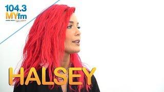Download Halsey Talks 'Nightmare', Women Empowerment, Working W/ BTS & More Video