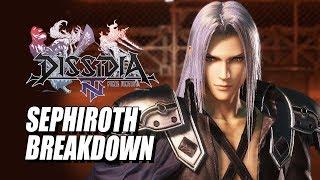 Download SEPHIROTH BREAKDOWN: Final Fantasy Dissidia NT w/Maximilian Video