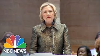 Download Hillary Clinton At Charlotte Church: 'Community Is In Pain' Over Keith Scott Shooting | NBC News Video