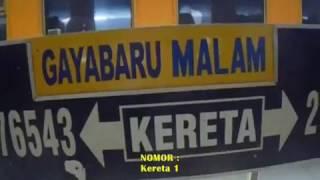 Download Kisah perjalanan menegangkan : KA Gayabaru Malam Selatan ( Pasar Senen - Surabaya Gubeng ) Video