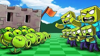Download *CUSTOM* PLANTS VS ZOMBIES IN MINECRAFT! (NEW PVZ Minecraft Mod) Video