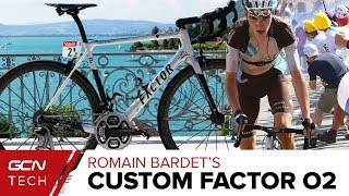 Download Romain Bardet's Custom Painted Factor O2 Video