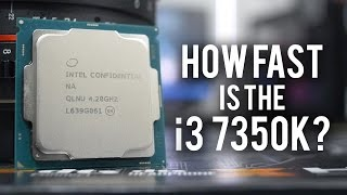 Download How Fast is the Core i3 7350K? Is it an i5 Killer? Video