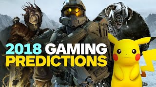 Download Our 2018 Video Game Predictions Video