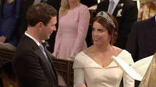 Download Prinzessin Eugenie und Jack Brooksbank: Hier sehen Sie den emotionalste Moment der Trauung Video