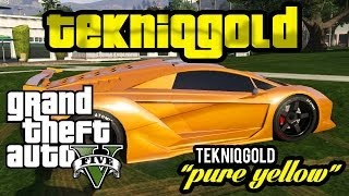 Download GTA 5 Online: Rare Secret Modded Colours - TEKNIQGOLD PURE YELLOW! - BETTER THAN IKUE GOLD? Video