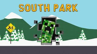 Download Minecraft References in South Park Video