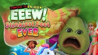 Download Pear FORCED to Play - EEEW! Stinky Feet #1 Video