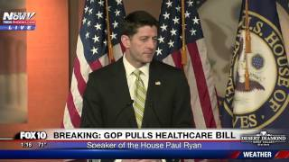 Download WATCH: Paul Ryan Speaks After Healthcare Bill Pulled By President Trump (FNN) Video