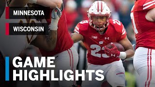 Download Highlights: Minnesota Golden Gophers at Wisconsin Badgers | Big Ten Football Video