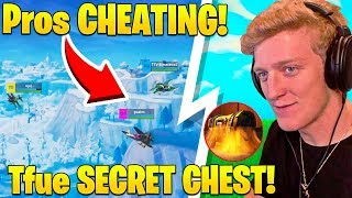 Download Pros Caught TEAMING in Winter Royale! Tfue TROLLED by SECRET CHEST! - Fortnite FUNNY Moments Video
