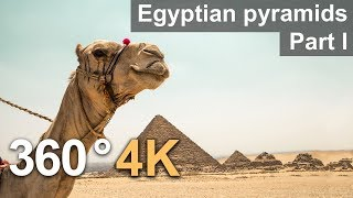 Download 360°, Egyptian pyramids, Part I. 4К video Video
