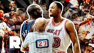 Download The 1997 Knicks-Heat Postseason Brawl | Director's Commentary | The Ringer Video