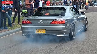 Download Modified Cars Leaving a Car Meet! - 800HP Supra, Skyline, TwinTurbo Gallardo, RS6, Golf VR6 Turbo,.. Video
