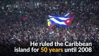 Download Thousands of Cubans rally in Revolution Square to remember Fidel Castro Video
