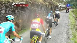 Download Etapa 20 Puerto de Ancares primeros kilometros Vuelta a España 2014 Video
