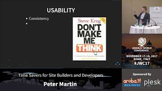Download Time Savers for Site Builders and Developers - Peter Martin Video