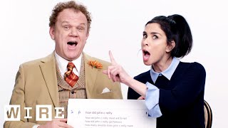 Download Sarah Silverman & John C. Reilly Answer the Web's Most Searched Questions | WIRED Video
