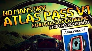 Download No Mans Sky Atlas Pass V1 Guide - How To Get Recipe! Video