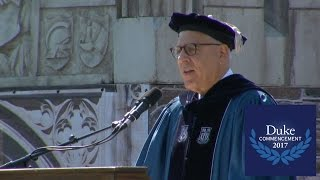 Download David Rubenstein, Duke University Commencement 2017 Speaker Video