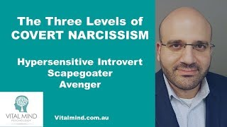 Download The Three Levels of Covert Narcissism - Hypersensitive Introvert, Scapegoater and Avenger Video