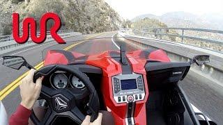 Download 2016 Polaris Slingshot SL - WR TV POV Canyon Drive Video