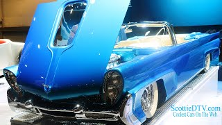 Download 1958 Lincoln Continental Convertible ″Maybelle″ Kindig-It Design The SEMA Show 2017 Video
