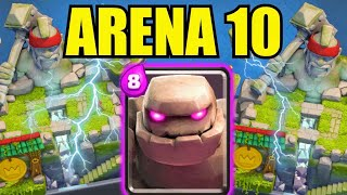 Download 🏆BESTES ARENA 10 DECK! MIT GOLEM DECK 4900 POKALEN! | Clash Royale deutsch Video