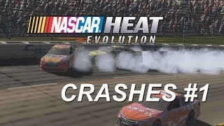 Download NASCAR Heat Evolution Crashes - Feel Invincible Video