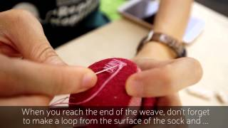 Download How to patch a hole in your sock by the darning technique - Repair Kopitiam Video