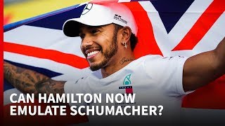 Download Why Schumacher's records are now in reach for Hamilton Video