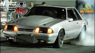Download Turbo Mustang vs Nitrous Mustang battle at the dirty south no prep Video
