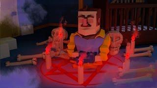 Download Minecraft | Hello Neighbor - DEMONS ARE IN HIS BASEMENT? (Hello Neighbor in Minecraft) Video
