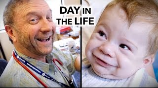 Download A CRAZY DAY IN THE LIFE of a busy pediatrician (6am-9:45pm) | Dr. Paul Video