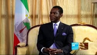 Download Teodoro Obiang Nguema Mbasogo, président de la République de Guinée Équatoriale 10/04/2012 Video